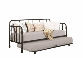 Twin Metal Daybed With Trundle 300766