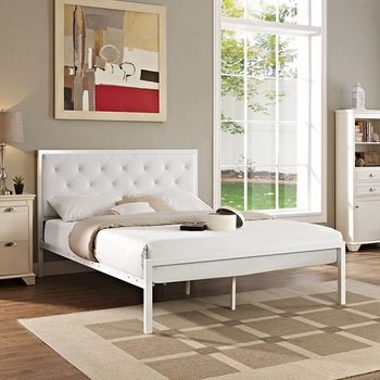 MIA QUEEN VINYL BED