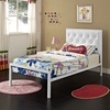 MIA TWIN VINYL BED