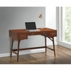 Mid-Century Modern Writing Desk with 3 Drawers