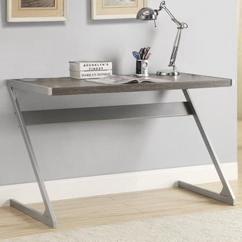 Modern Bluetooth Speaker Desk with Metal Base