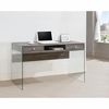 Modern Computer Desk with Glass Sides