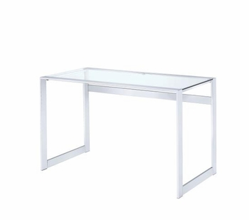 Modern glass writing desk # 800746