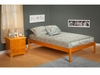 Modern King Size Concord Platform bed Open Foot rail Furniture