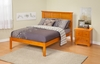 Modern Madison Platform bed Open Foot Rail Furniture