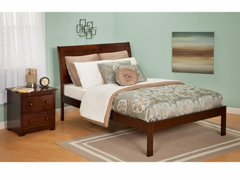 Modern Portland Platform bed Open Foot Rail Furniture
