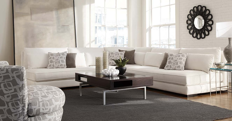 Modern armless sectional Chill 62509 expensive Younger living room