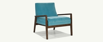 Custom Uptown chair made in USA # 1460
