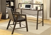 Modern 2 PC writing desk and desk chair