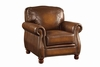 Montbrook Traditional Chair with Rolled Arms and Nail head Trim