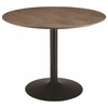 Montoya Round Dining Table with Metal Base by Scott Living