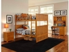 Nantucket Full/Full Bunk Bed Children Atlantic Bedroom Furniture
