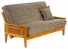 Loveseat Full bed Naples Standard Full Lounger Size Futon Frame