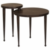 Nesting Tables Round Nesting Table with Narrow Legs