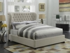 Newburgh Queen Upholstered Bed with Demi-Wing Headboard