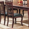 Newhouse Side Chair with Faux Leather Seat