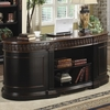 Nicolas Traditional Oval Executive Double Pedestal Desk