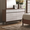 Oakwood 6 Drawer Dresser