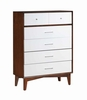 Oakwood Chest with Drawers