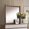 Oakwood Dressor Mirror with Wood Frame
