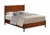Oakwood Mid-Century Modern King Panel Bed