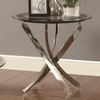 702580 End Table w/ Tempered Glass Top