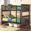 Oliver Twin Bunk Bed with Spindle Headboard and Footboard