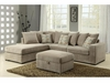 Olson Contemporary Reversible Sectional with Chaise