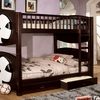 Olympic II Twin/Twin bunk bed with two storages