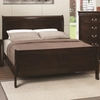 Open Box Louis Philippe 202 Full Panel Sleigh Bed