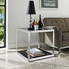OPEN BOX SIDE TABLE IN BLACK