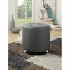 Round Upholstered Ottoman 500556