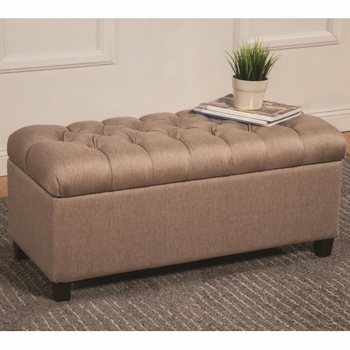 Ottomans Tufted Storage Bench # 500064