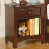 Parker Nightstand with Drawer and Shelf