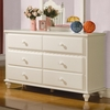 Pepper Dresser w/ 6 Drawers