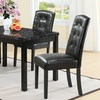 Perdure Dining Side Chair in Black