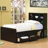 Phoenix Full Bookcase Bed with Underbed Storage