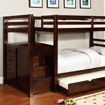Pine Ridge Twin/Twin Bunk bed with optional trundle
