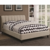 Portola Mid Century Modern Upholstered Queen Bed