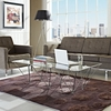 PRISM RECTANGLE COFFEE TABLE IN CLEAR 260