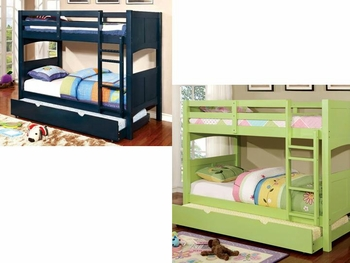 Prismo II Twin/Twin bunk bed with trundle