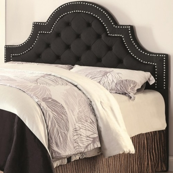 Queen/ Full Ojai 300443QF Upholstered Headboard with Button Tufting