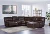 Recliner Sectional with chaise U1953