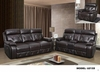 Recliner Sofa Leather Gel U2133