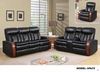 Recliner Sofa Leather Gel U9673