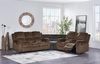 Recliner Stereo Sectional # U3118C