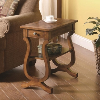 Rectangular Accent Chair side Tables Furniture