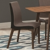 Redbridge Dining Side Chair with Curved Back
