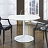 REVOLVE WOOD DINING TABLE IN WHITE