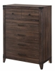Richmond 5 Drawer chest with Felt Lined Top Drawers